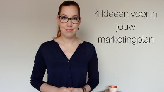 4 Ideeën Voor In Jouw Marketingplan (1)
