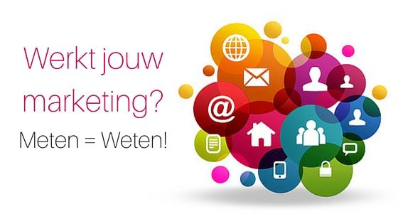 Werkt Jouw Marketing  Meten = Weten!