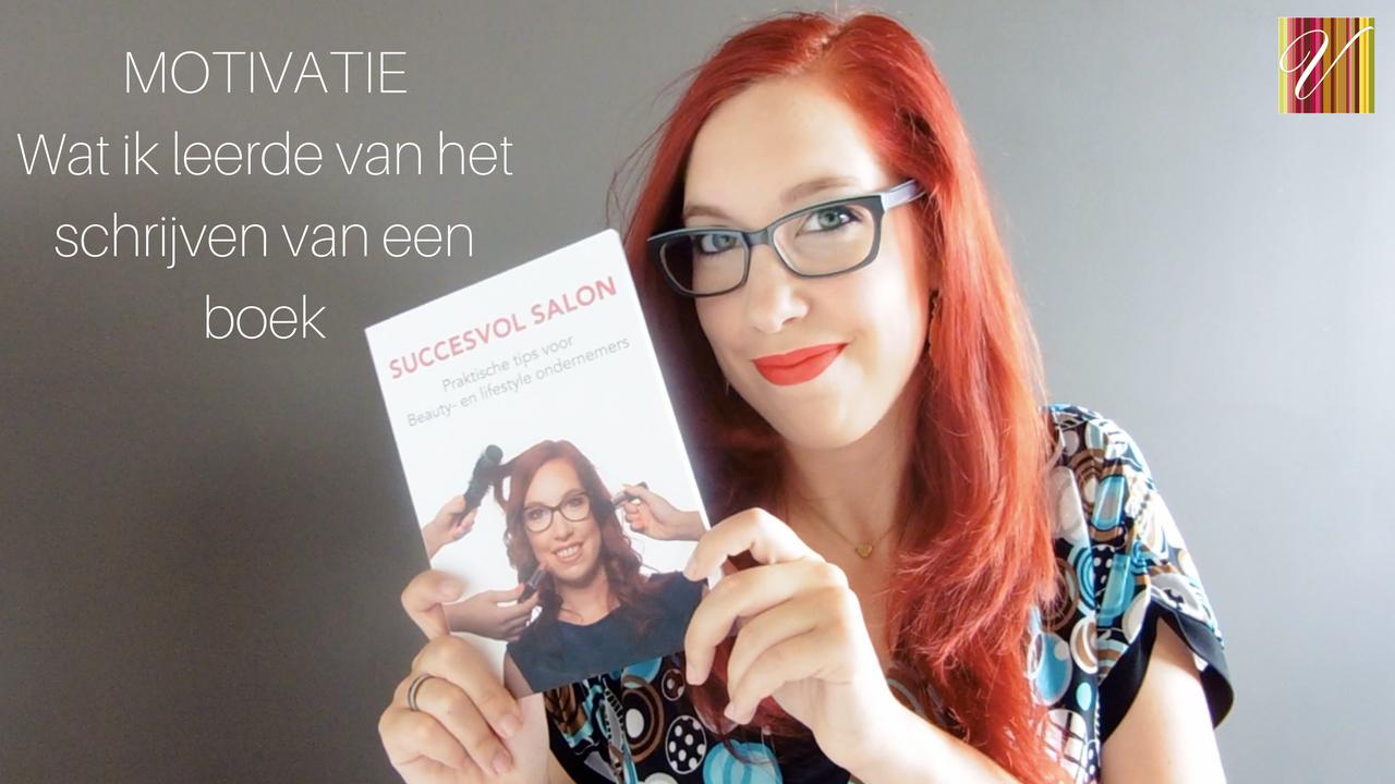 Motivatievideo: Wat Ik Leerde Van Het Schrijven Van Een Boek