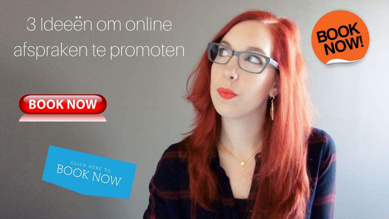 3 Ideeën Om Online Afspraken Te Promoten