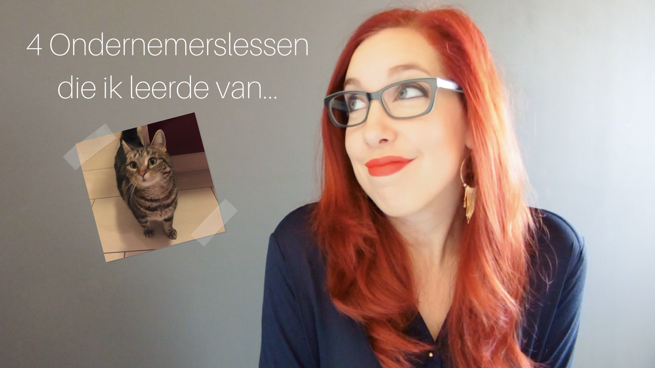 4 Ondernemerslessen Die Ik Leerde Van… Mijn Kat