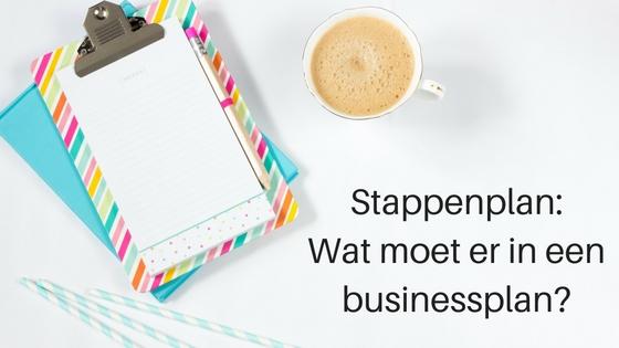 Stappenplan: Wat Moet Er In Een Businessplan?