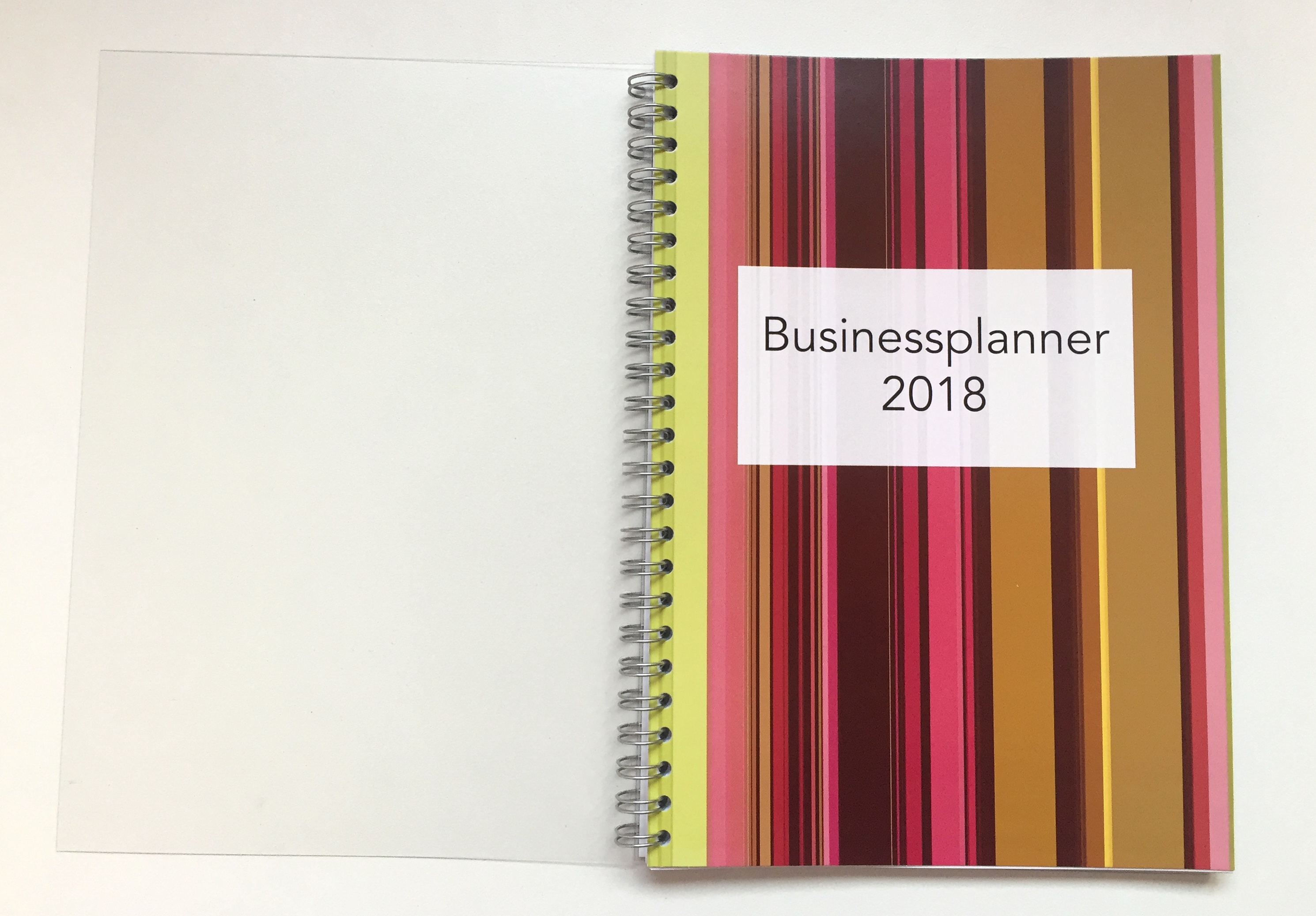 Businessplanner 2018 Open