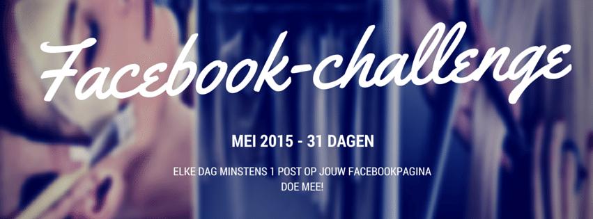 Doe Mee Aan De Facebook-challenge!