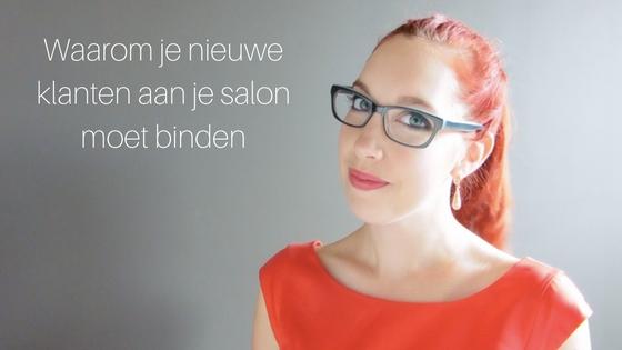 Waarom Je Nieuwe Klanten Aan Je Salon Moet Binden