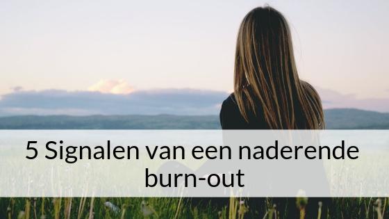 5 Signalen Van Een Naderende Burn-out