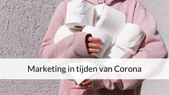 Marketing In Tijden Van Corona