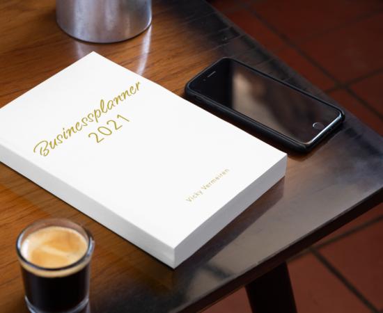Mockup Businessplanner 2021