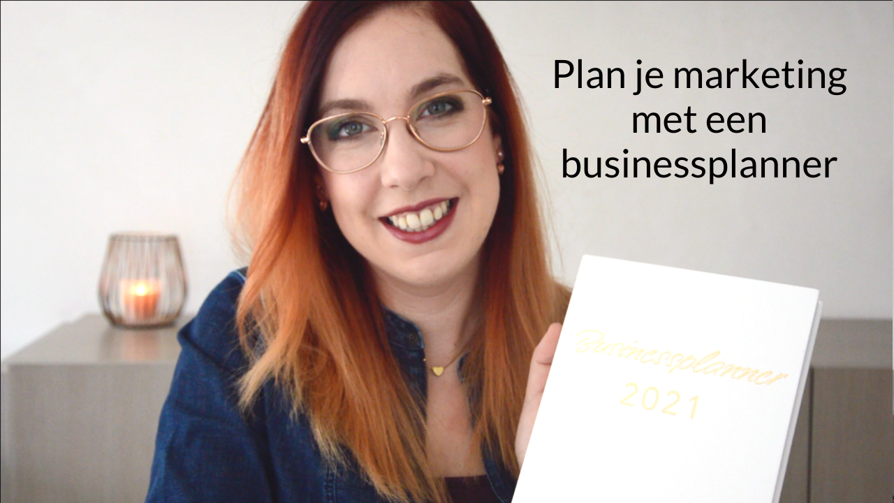 Plan Je Marketing Met Een Businessplanner