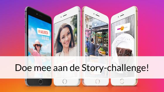 Doe Mee Aan De Story-challenge!